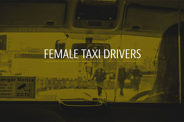 Find out More: London's Female Taxi Drivers