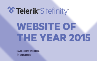 Tradex wins Telerik Sitefinity 2015 Website of the Year Award