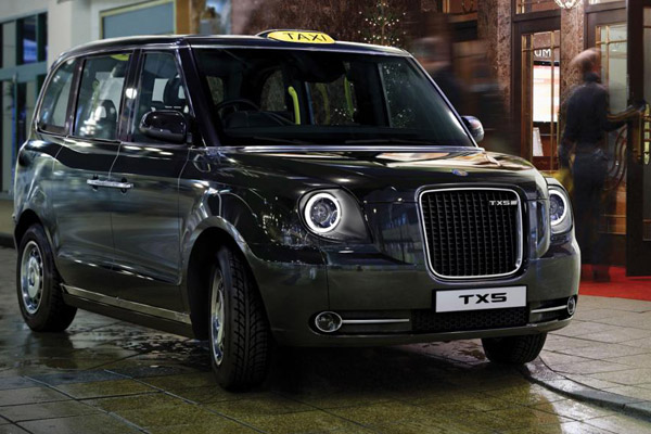 The New London Black Cab TX5 will be built in Ansty