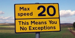 Speeding is Britain's number one motoring offence